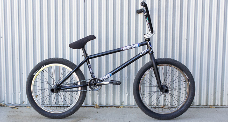 Moritz Nussbaumer Bike Check BMX Subrosa Brand