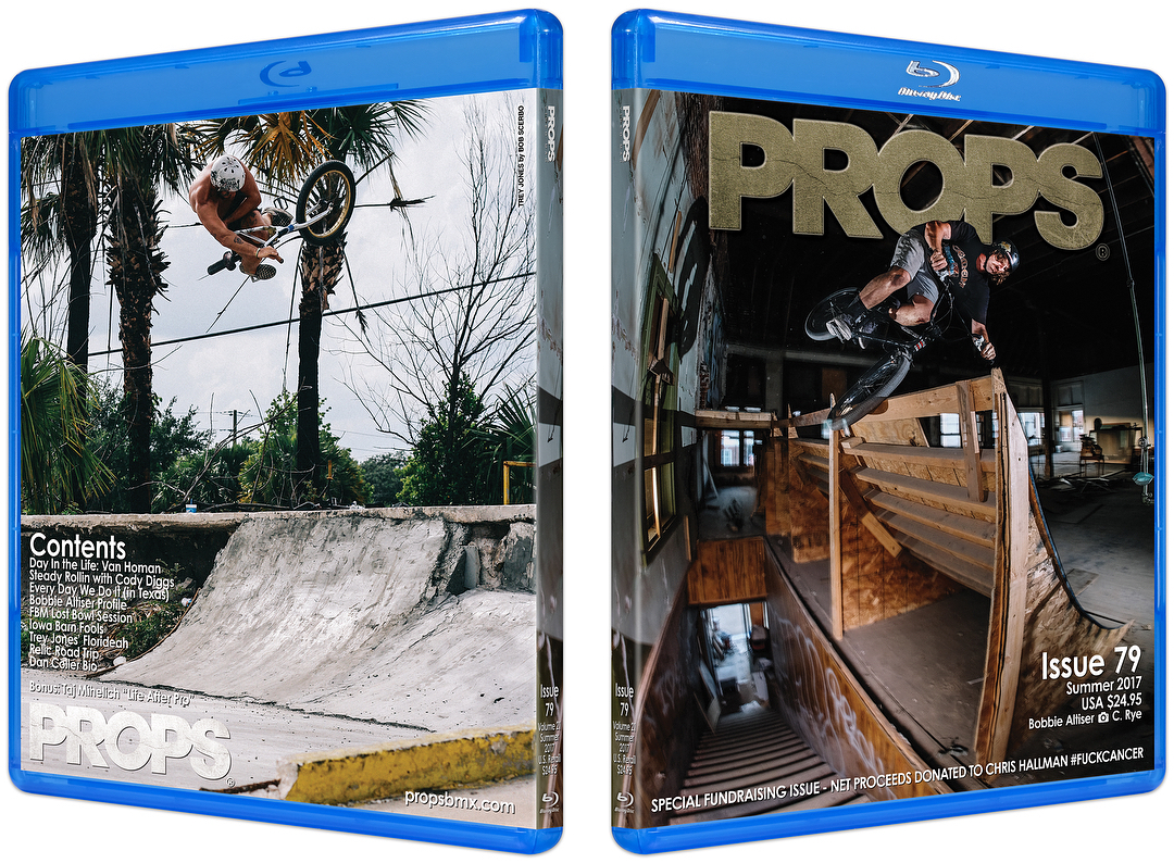Props BMX Issue 79 Cover