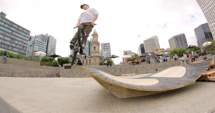 Wild In The Streets Adelaide BMX Jam Video