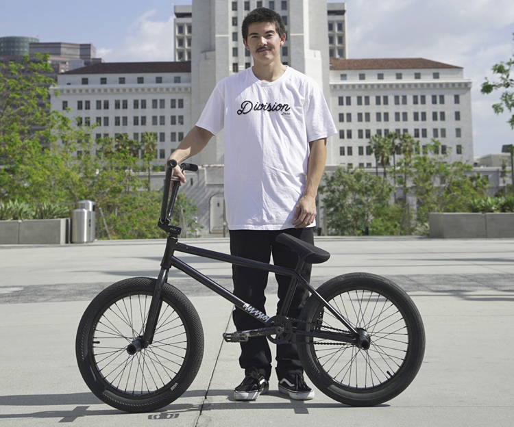 Division Brand Wolfgang Ray Bike Check BMX
