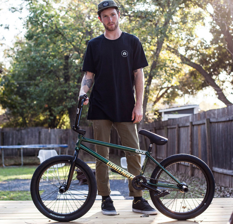 Eclat BMX Dan Coller Bike Check BMX