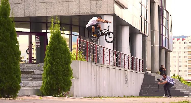 Fiend BMX Raul Jula 2017 BMX video TBB Bike