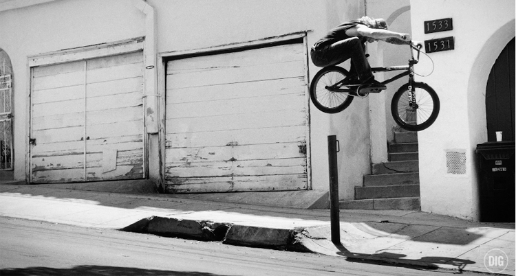 Jimmy Levan Go Fast Pull Up Trailer BMX Video