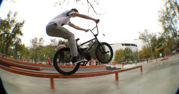 Mayday Brand Andrey Gaevsky BMX Video