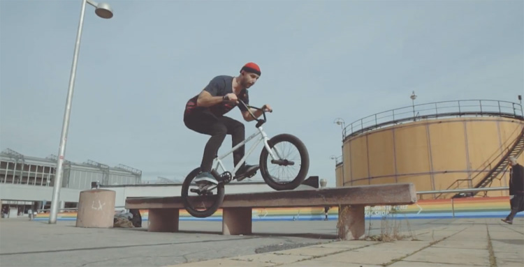 Vasya Lukyanenko Eurotrip 2017 BMX video