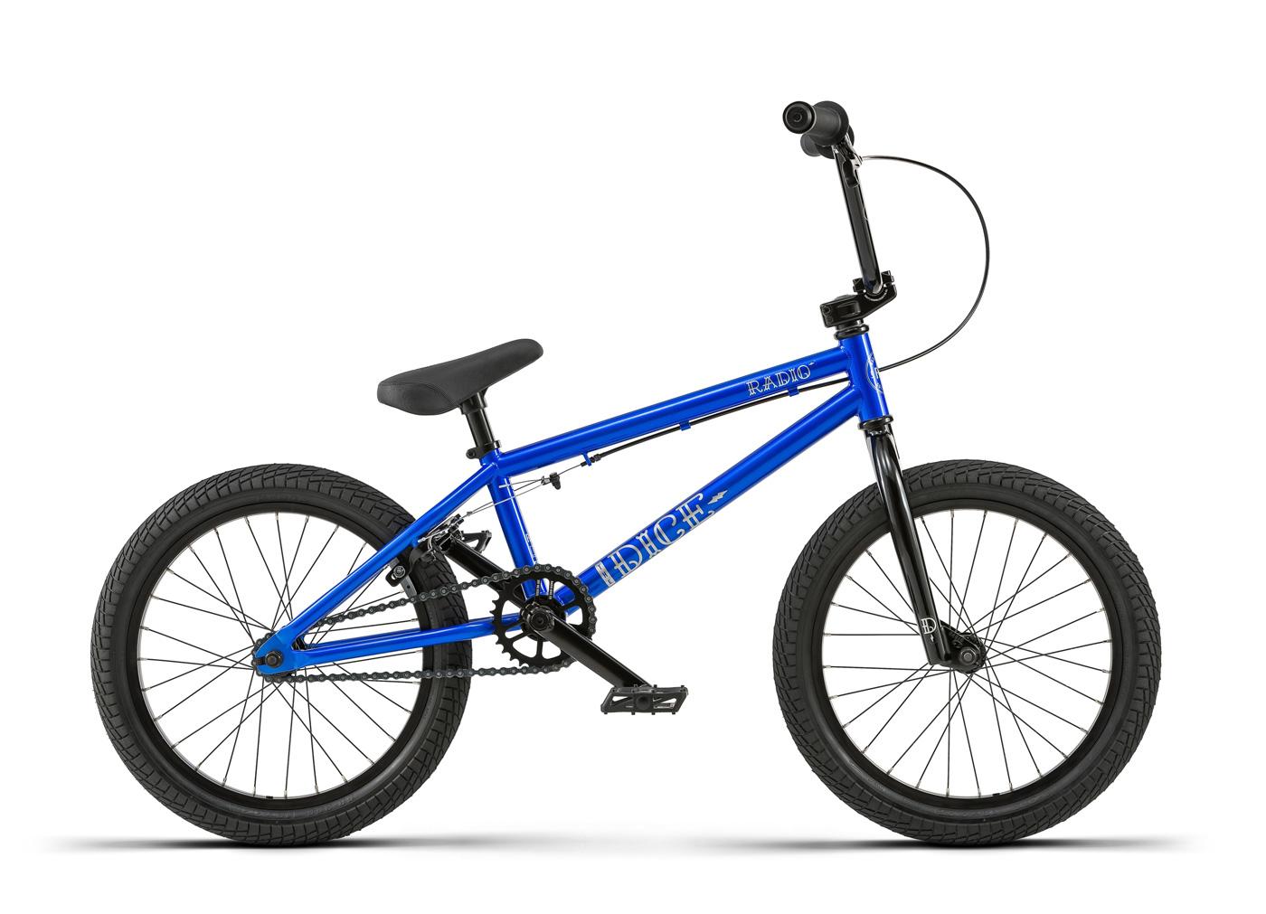 Radio Bikes 2018 Dice Complete BMX Bike