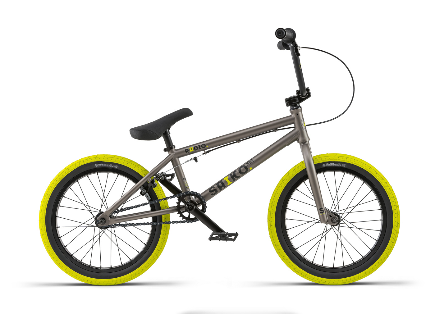 "Radio Bikes 2018 Saiko 18"" Complete BMX Bike"