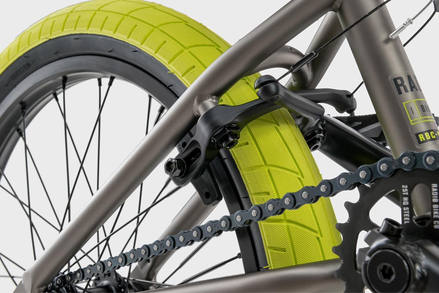 "Radio Bikes 2018 Saiko 20"" Complete BMX Bike"