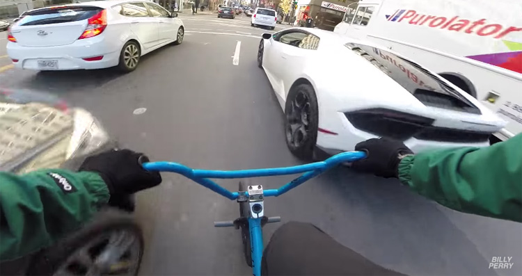 Billy Perry GoPro POV BMX video Montreal Canada