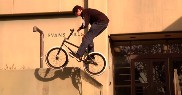 Common Crew San Francisco BMX video