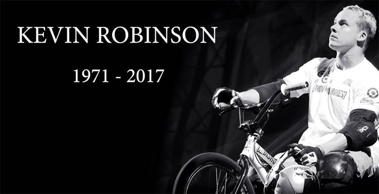 Kevin Robinson Tribute BMX Video X Games