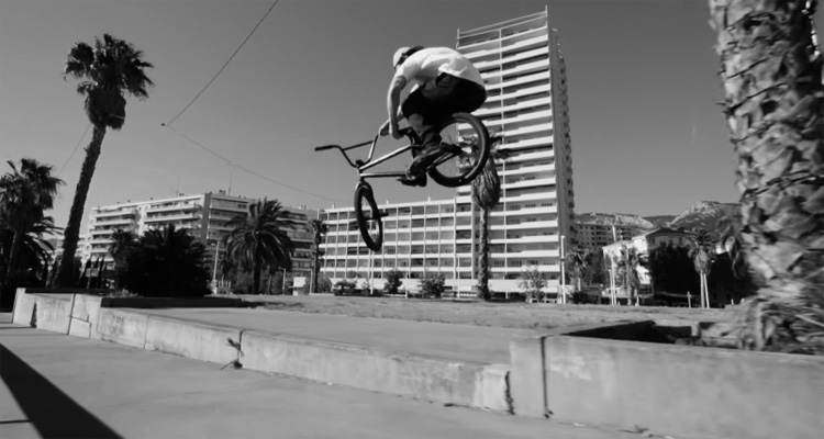 Mathieu Paillon Frenchys Distribution BMX Video
