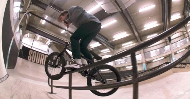 Source BMX Lock In Michal Smelko BMX Video