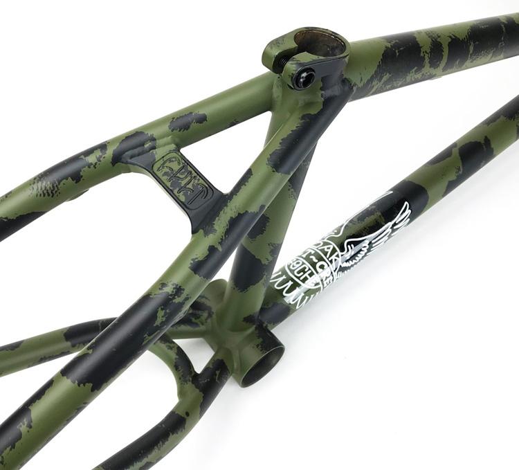 Cult BMX Dakota Roche Dak Frame Green Patina