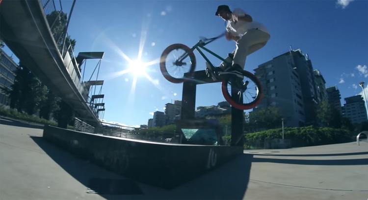 Jason Eustathiou Torino Italy BMX video