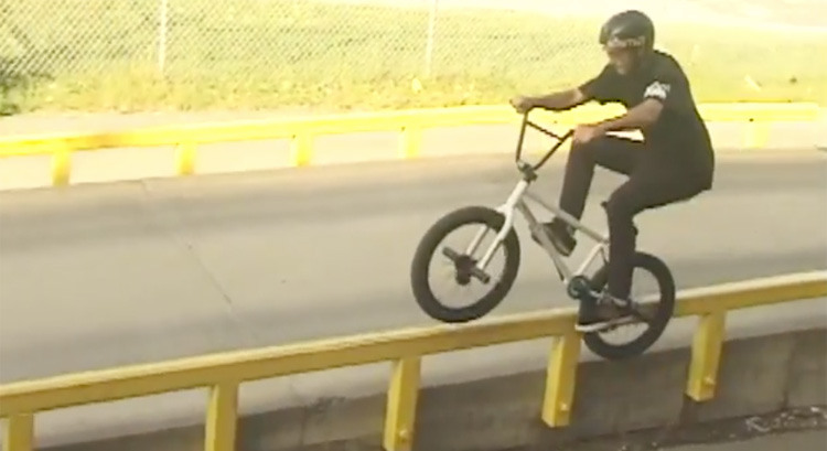 Joel Fortin Merritt BMX Video