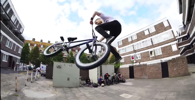Odyssey BMX In London Video