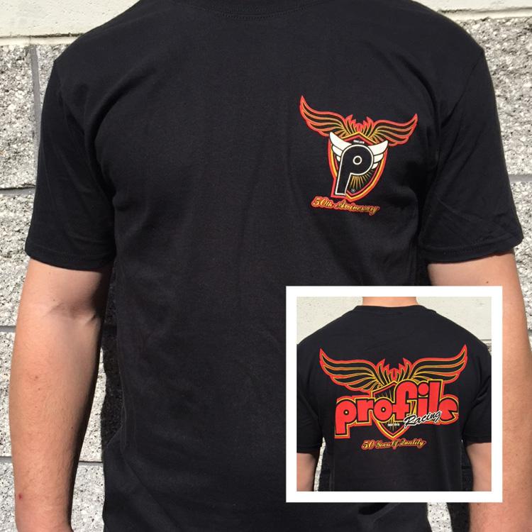 Profile Racing 50th anniversary tshirt BMX