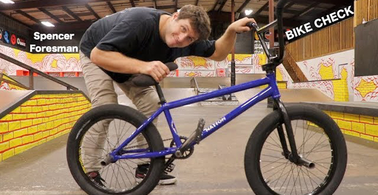 Spencer Foresman Video Bike Check BMX