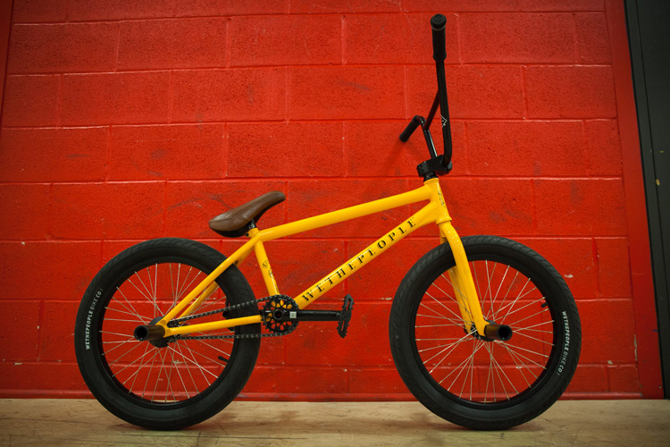 Wethepeople BMX Mike Curley Bike Check
