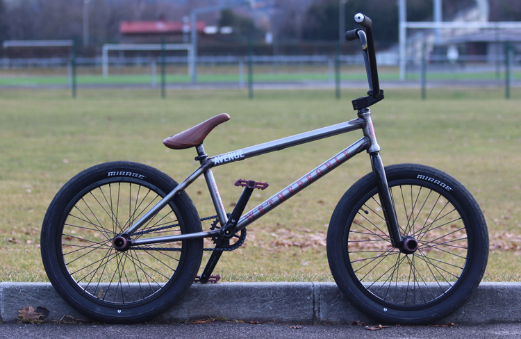 Wethepeople BMX Thomas Benedetti Bike Check