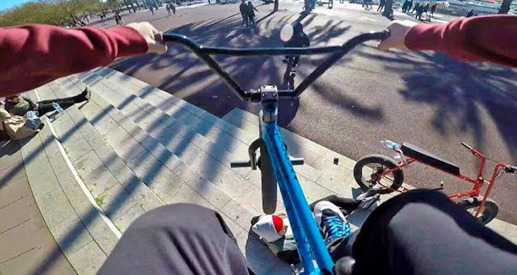 Billy Perry – GoPro BMX Riding In Barcelona, Spain