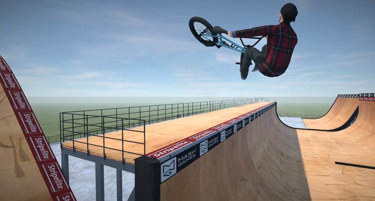 BMX Streets Pipe XBox One