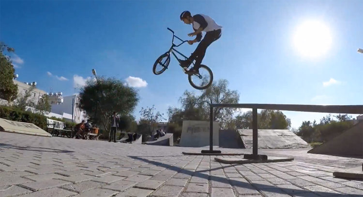 How to learn barspins bmx tricks
