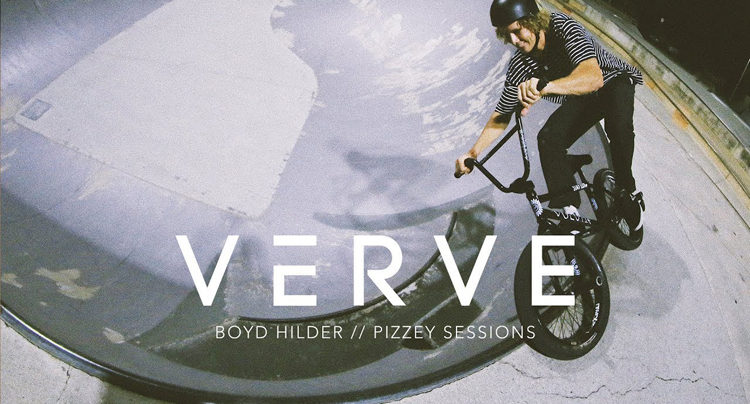 Boyd Hilder pizzey Session BMX video