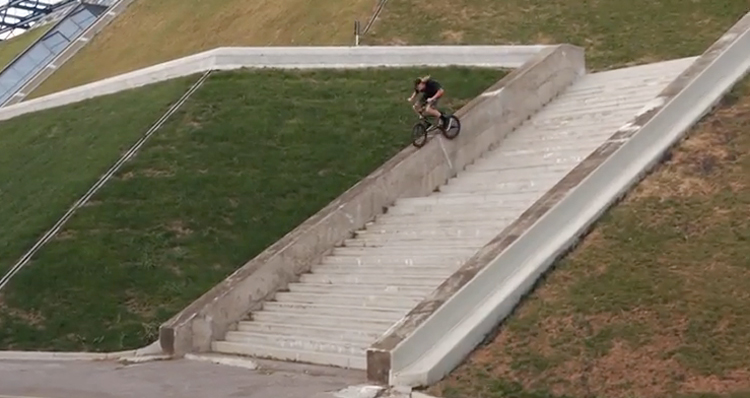 BSD Territories 2 Paris, France BMX video