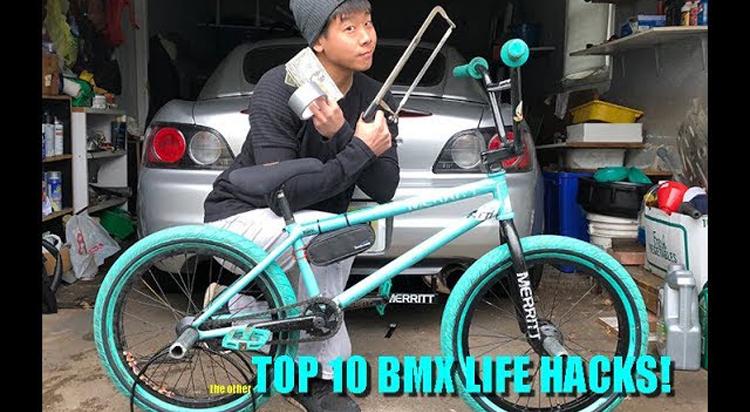 Top 10 BMX Life Hacks