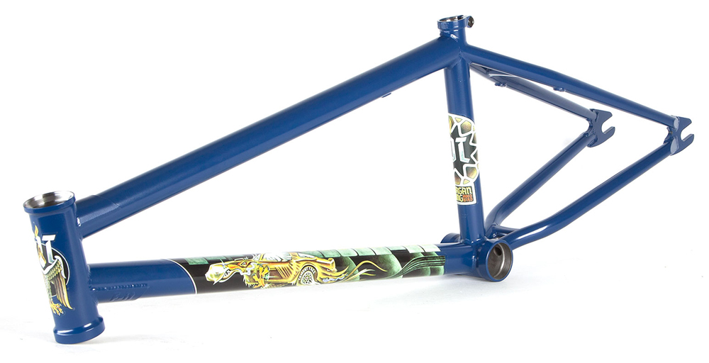 Fit Bike Co 2018 Hoodbird BMX Frame Blue