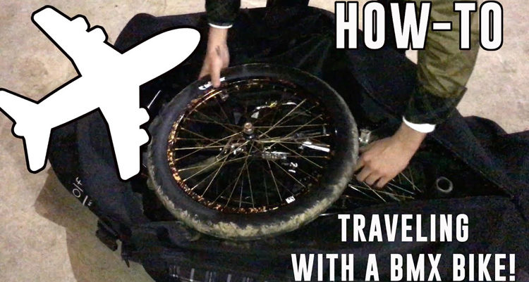 How To Travel With A BMX Bike