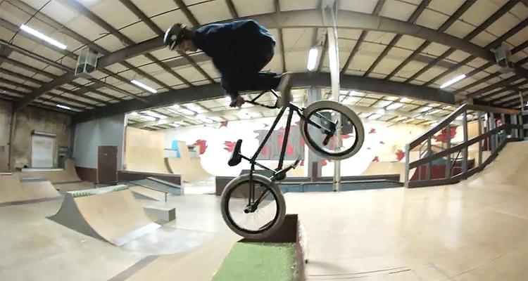 Kevin Peraza Destroys Premises Skatepark