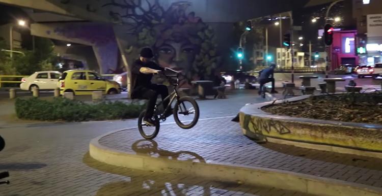 Merritt BMX Noches de Colombia BMX video