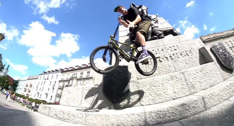 Pavel Tencik BMX Video