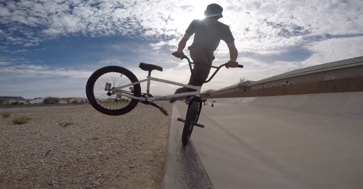 Pusher BMX In Las Vegas BMX video