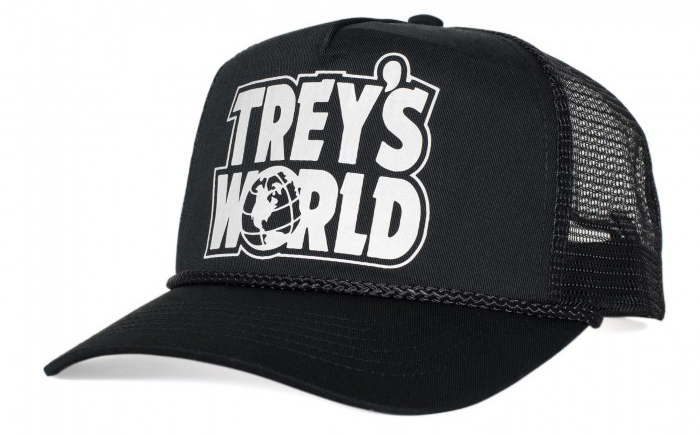 Trey's World Trucker Hat Shadow Conspiracy BMX
