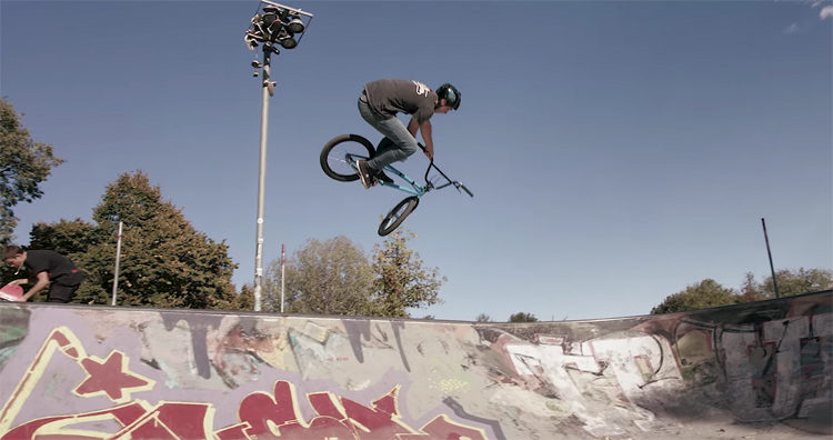 Vittorio Galli BMX video Italy