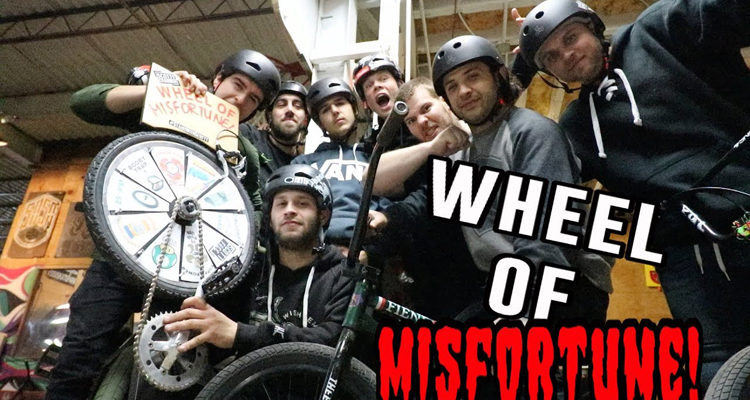 Wheel of Misfortune at 5050 Skatepark