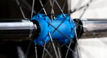 Cinema VX2 Arrière Vélo BMX Hub SHELL-bleu 36 h 14 mm