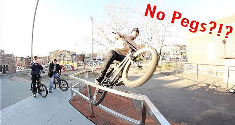 5050 Skatepark Street Riding Passaic BMX video
