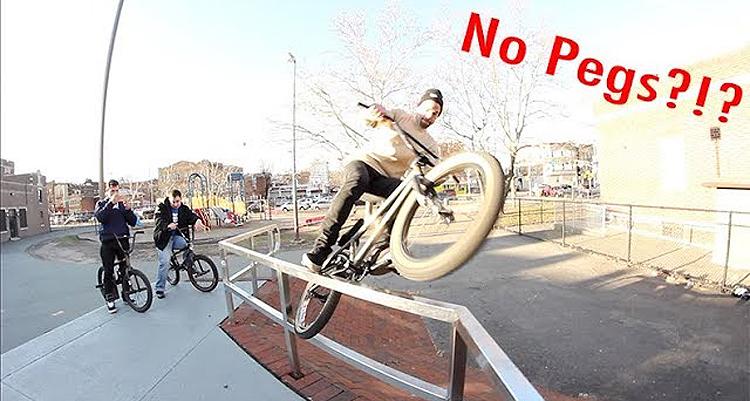 5050 Skatepark Street Riding Passaic BMX video