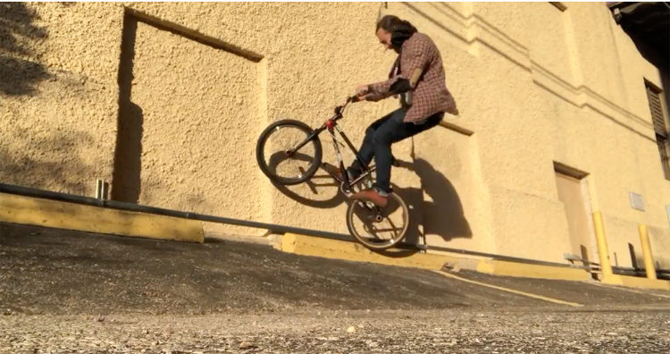 Brian Tunney Holy Trend BMX video