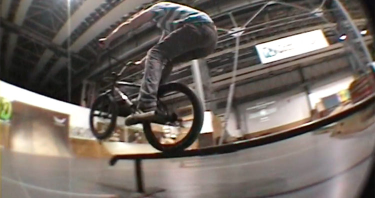 Carlo Hoffmann Boneyard Skatepark BMX video