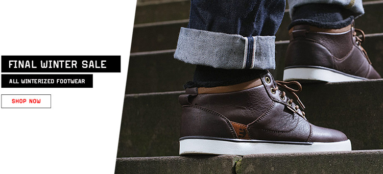 Etnies Winterized Sale