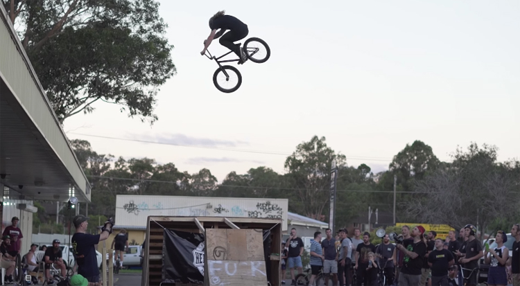 Hell On Wheels Welcome to Hell BMX video
