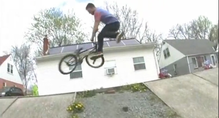The Daily Grind Jeff Purdy BMX video