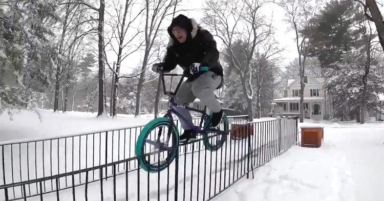 Montana Ricky VS Snow Rails