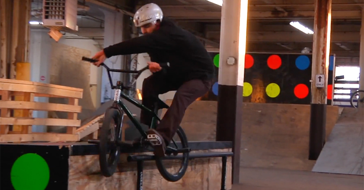 Mike's Bike Park BMX video